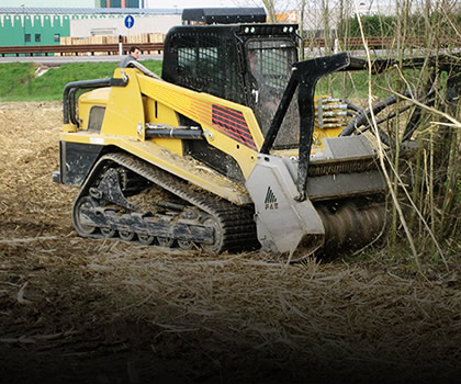 Compact skid steer loaders